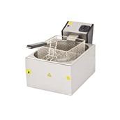 DRNFRTE-8 Ηλεκτρική Φριτέζα 8Lt λάδι, μονή, 36x44xΥ30cm, 3200W, DRN