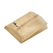210SACF201 Φάκελος περιτυλίγματος για ψήσιμο σε φούρνο, 17x20x4cm, Kraft