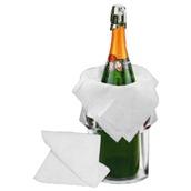 TCHP-5050-5PCS Πακέτο 5 πετσέτες σαμπάνιας, 50x50cm, 100% βαμβακερές