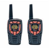 AM-645 Σετ 2 Walkie Talkie, 8 κανάλια, κωδικοποίηση 121 συνδιασμών, εμβέλεια έως 8km, COBRA