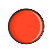 GA-B-FP-30 Πιάτο ρηχό πορσελάνης 30cm, πορτοκαλο-κόκκινο, GALAXY-B, LUKANDA